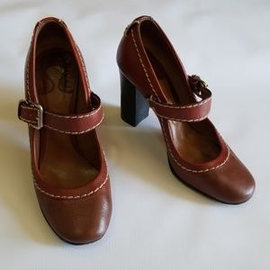 "Chloè 4""heels size 9"